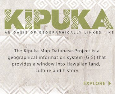 Kipuka: An Oasis of Geographically Linked 'Ike
