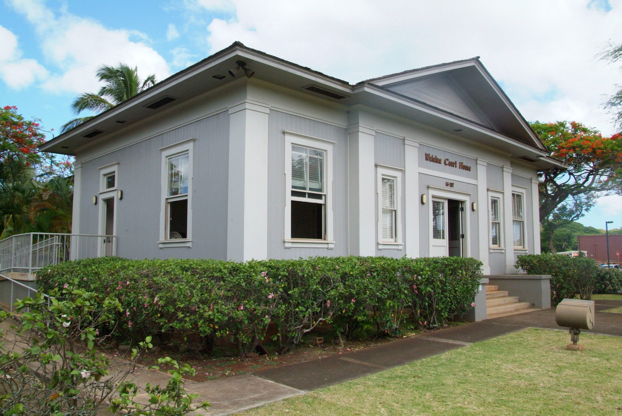 Photo: Waialua Courthouse